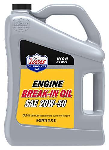 SAE 20W-50 Break-in Oil/3x1/5 Quart
