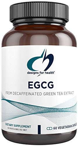Designs for Health EGCg - Decaffeinated Green Tea Extract + Polyphenols (60 Capsules)