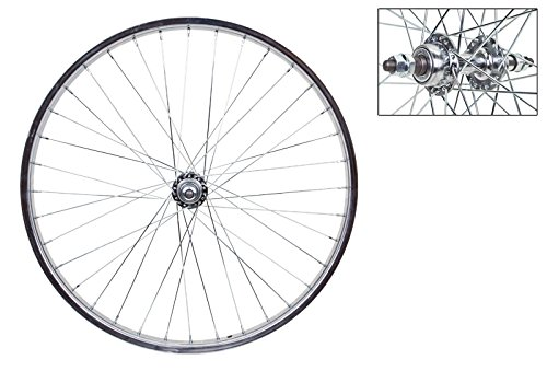 Wheel Master Rear Bicycle Wheel 24 x 1.75 36H, Steel, Bolt On, Silver