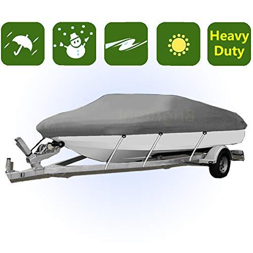 17-19 ft Trailerable Boat Cover Waterproof V-Hull 95'' Beam Sun-Proof YBH2G