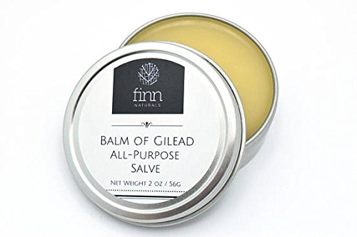 Finn Naturals Balm of Gilead All Purpose Salve Cream for Dry Skin, Aches and Pains (4 oz)