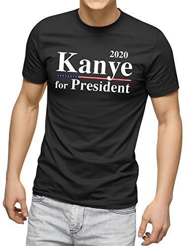 Kanye West 2020 Kanye West for President Kanye 2020 Shirts Kanye Trump Shirts (XL) Black