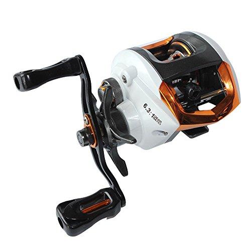 Lixada Spinning Fishing Reel 11+1BB Lightweight Carp Fishing Feeder 5.2:1 Gear Ratio Double Brake Right Left Hand Interchangeable