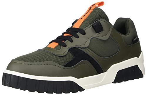Diesel Men's Fashion Sneaker, climbing ivy, 10.5 medium US