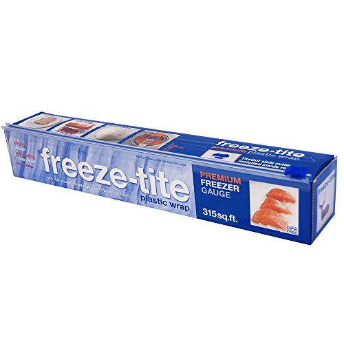 Freeze-tite Plastic Freezer Wrap, 315-Square Feet x 14 5/8-Inch Rolls (Pack of 4)