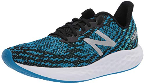 New Balance Men's Fresh Foam Rise V2 Running Shoe, Vision Blue/Black, 8.5 M US