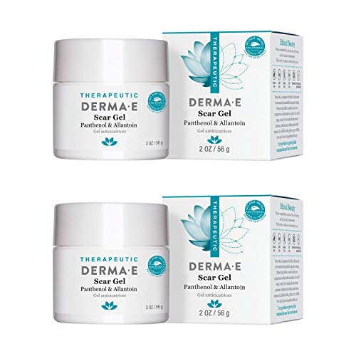 derma e Scar Gel, Helps Scarred Skin Heal, 2 oz - 2 Pack