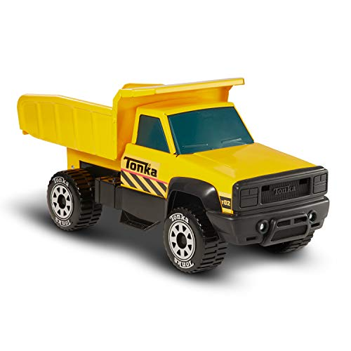 Tonka Classic Steel Quarry Dump Truck Vehicle, Yellow