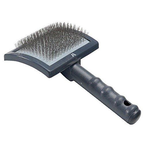 Millers Forge Universal Curved Slicker Brush Large for Dog Professional Grooming
