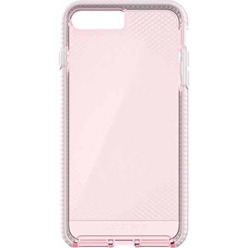Tech 21 Evo Check Case for iPhone 7- Light Rose/White