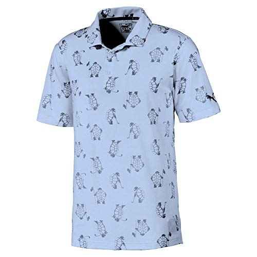 PUMA Golf 2020 Men's Slow Play Polo, Blue Bell, XX-Large