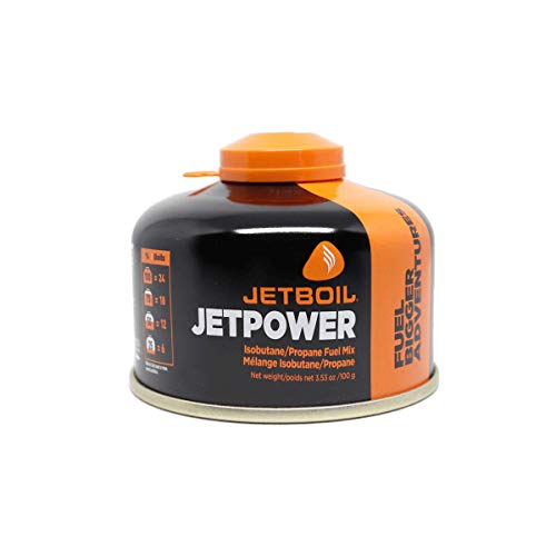 Jetboil Jetpower Fuel for Jetboil Camping and Backpacking Stoves, 100 Grams