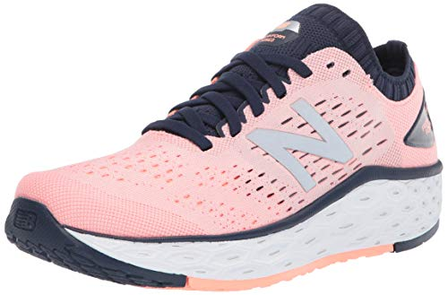 New Balance Women's Fresh Foam Vongo V4 Running Shoe, Peach Soda/Natural Indigo, 8 M US