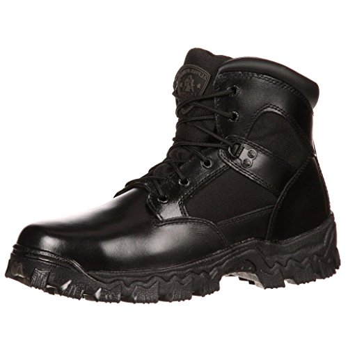 Rocky mens Fq0002167 military and tactical boots, Black, 3 US
