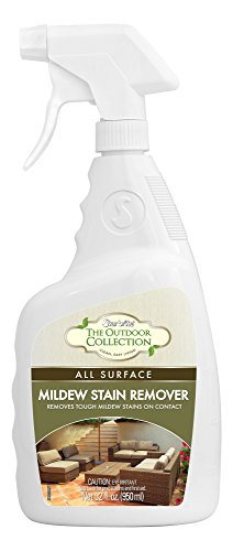 STAR BRITE - 54432 Star brite Outdoor - All Surface Mold Stain & Mildew Stain Remover – Cleans & Removes Stains on Contact - 32 OZ Spray