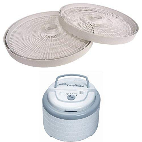 Nesco LT-2SG Add-A-Tray (2-pack) and Snackmaster Pro Food Dehydrator FD-75A Bundle