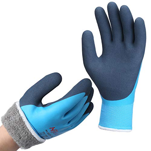 DS Safety Men's Waterproof Thermal Winter Work Gloves Size Small