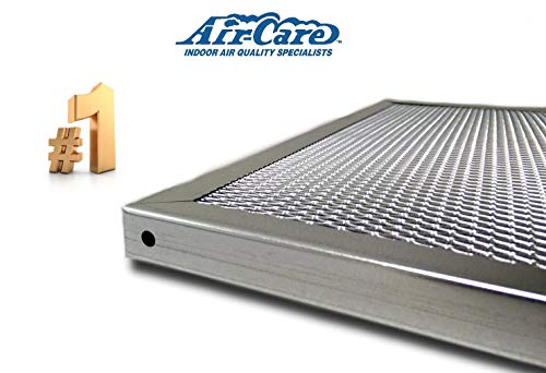 Air-Care 16x20x1 Silver Electrostatic Washable A/C Furnace Air Filter - Limited, Never Buy Another Filter!! - Made In the USA