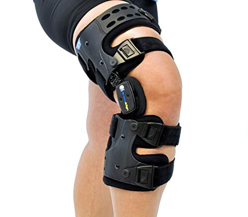 Osteoarthritis Unloader Adjustable ROM Stabilizing Knee Brace L1851/L1843 Protection and Recovery from Load Reduction Arthritis Cartilage Repair Joint Pain Degeneration Left Medial or Right Lateral