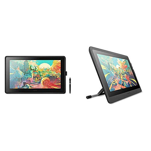 Wacom Cintiq 22 Drawing Tablet with HD Screen, Graphic Monitor, 8192 Pressure-Levels (DTK2260K0A) 2019 Version Bundle with Wacom Cintiq Adjustable Stand