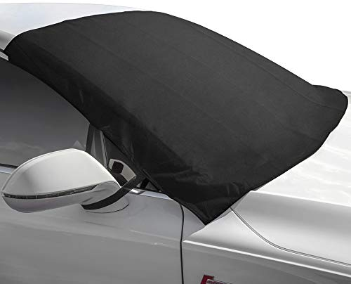 Motorup America Winshield Snow Cover and Sunshade Protector Fits Select Vehicles Car Truck Van SUV