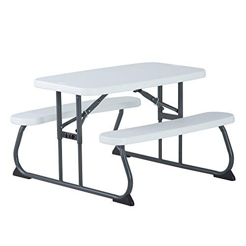 Lifetime Kid's Picnic Table, White
