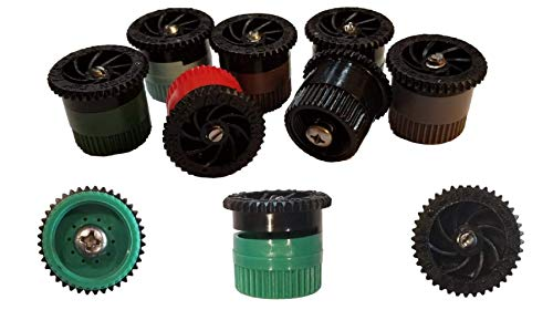 Modtek Replacement Pop UP Sprinkler Heads for RainBird, Hunter, Orbit Pop Up Sprinklers, Sprinkler Color May Vary. (10, 10AN)