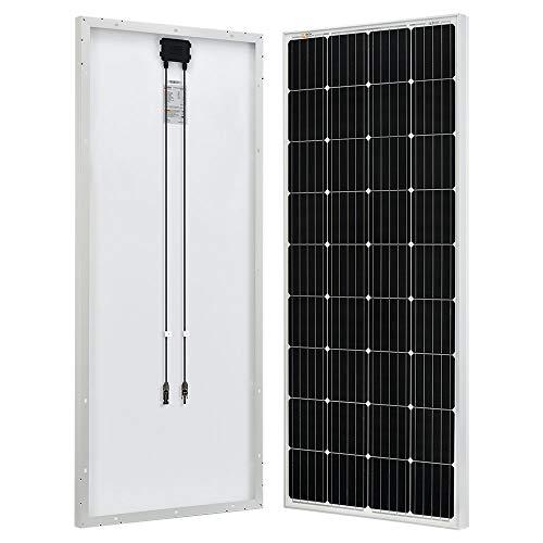 RICH SOLAR 170 Watt 12 Volt Moncrystalline Solar Panel High Efficiency Solar Module Off Grid PV Power Charge Battery for RV Trailer Camper Marine Off Grid