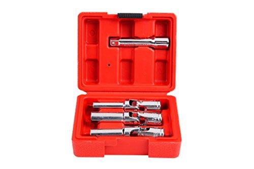 """Shankly 4 Piece 3/8"""" Glow Plug Socket Set, Diesel Glow Plug Socket"""
