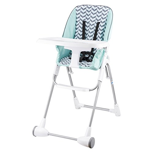 Evenflo Symmetry High Chair, Spearmint Spree