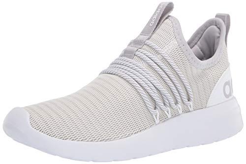 adidas Men's LITE Racer Adapt Running Shoe, White/Grey/Light Granite 1, 9.5