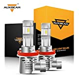 Auxbeam H11 Led Headlight Bulbs F-M3 Series 50W 5000lm 6500K ZES LED Chip Single Beam Headlight Conversion kit