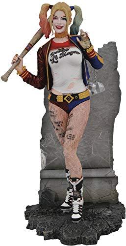 DIAMOND SELECT TOYS DC Gallery: Suicide Squad Movie Harley Quinn PVC Figure, Multicolor