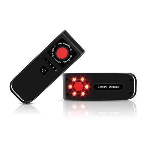 FUPOM Camera Finder - Ultra Fast RF Camera Detector- Detect and Find Hidden spy Camera - One Key Start up DIY kit -Ideal #1 for Privacy of Dressing Hotel Airbnb Apartment Toilet