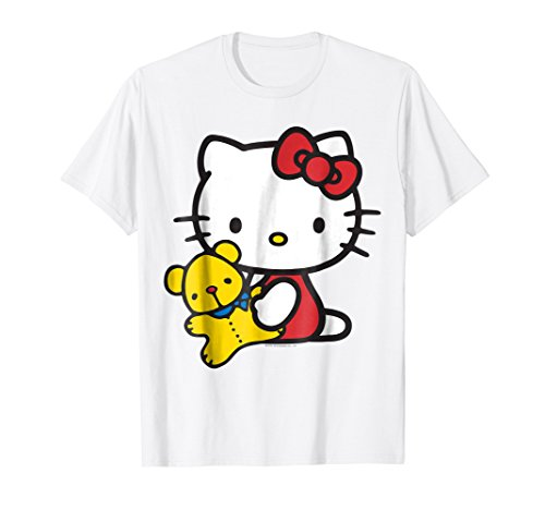 Hello Kitty and Teddy Bear Tee Shirt