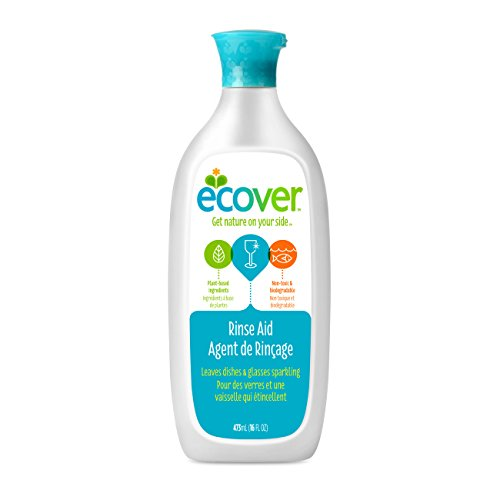 Ecover Rinse Aid, 16 Fl Oz (Pack of 6)