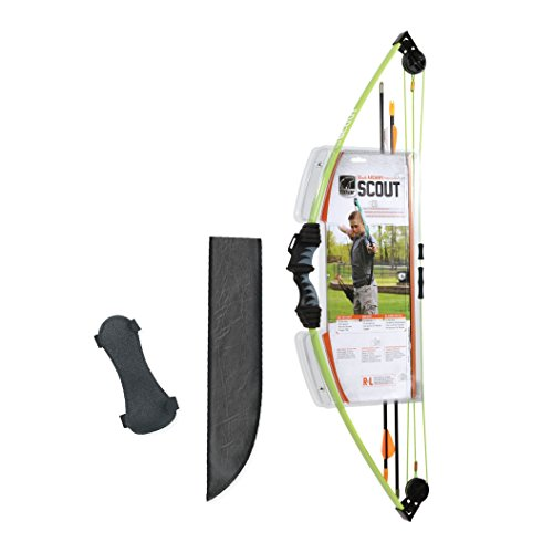 Bear Archery Scout Youth Bow Set –Flo Green