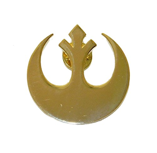 Star Wars Gold REBEL ALLIANCE Large Logo PIN