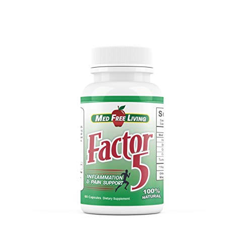 Factor 5-60 Capsules - Pain Management & Inflammation Relief Product