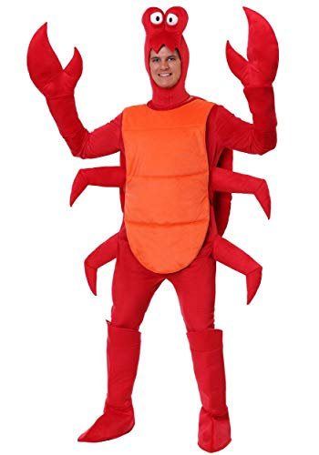 Men's Crab Costume Standard Red