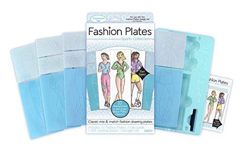 LatchKits Fashion Plates Sports Expansion Pack