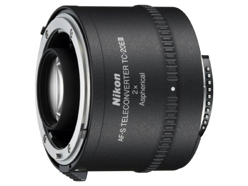 Nikon Auto Focus-S FX TC-20E III Teleconverter Lens with Auto Focus for Nikon DSLR Cameras