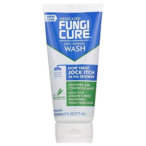 FUNGICURE Medicated Anti-Fungal Jock Itch Wash, 1- Pack 6 Fl Oz