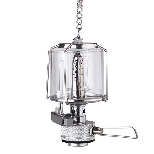 Docooler Mini Portable Camping Lantern Gas Light Tent Lamp Torch Hanging Lamp