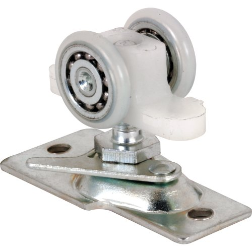 Slide-Co 163601 Pocket Door Roller with Base Plate and 2 Wheel Ball Bearing