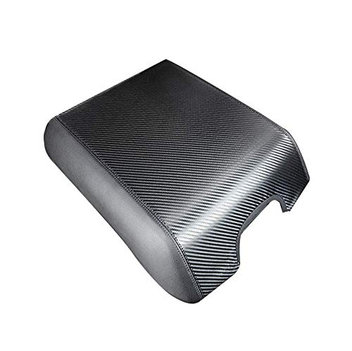 Salusy Leather Car Center Console Armrest Case Cover Compatible with Ford F-150 Raptore 2015-2020