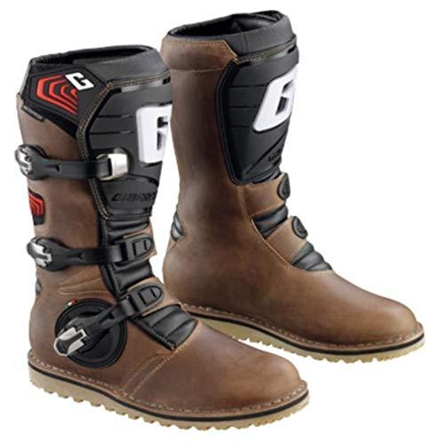 Gaerne Brown Sz 11 Balance Oiled Boots