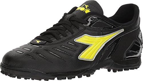 Diadora Maracana 18 TF Black/Fluo Yellow 7.5