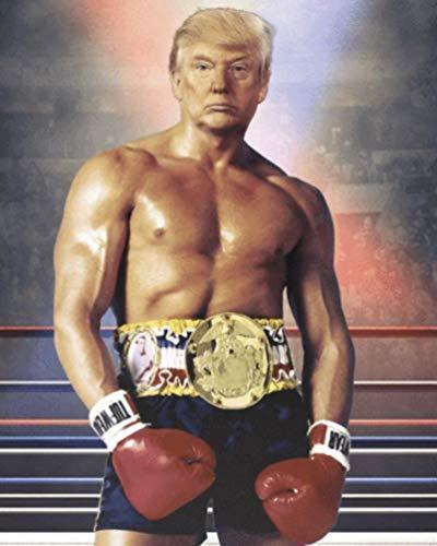 President Donald J Trump Rocky Balboa Photo American Presidents Photo Art Photos 8x10 MAGA Sale