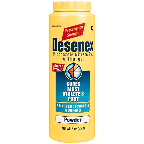 Desenex Athlete's Foot Shake Powder, White, 3 Ounce